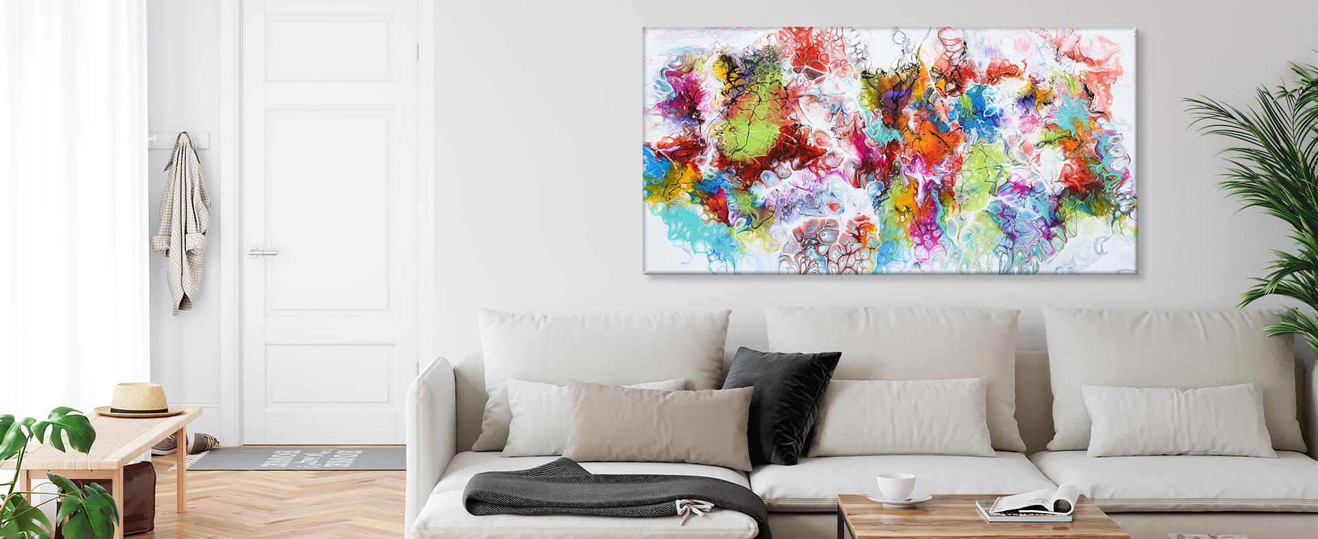 Tilbud på malerier til stuen